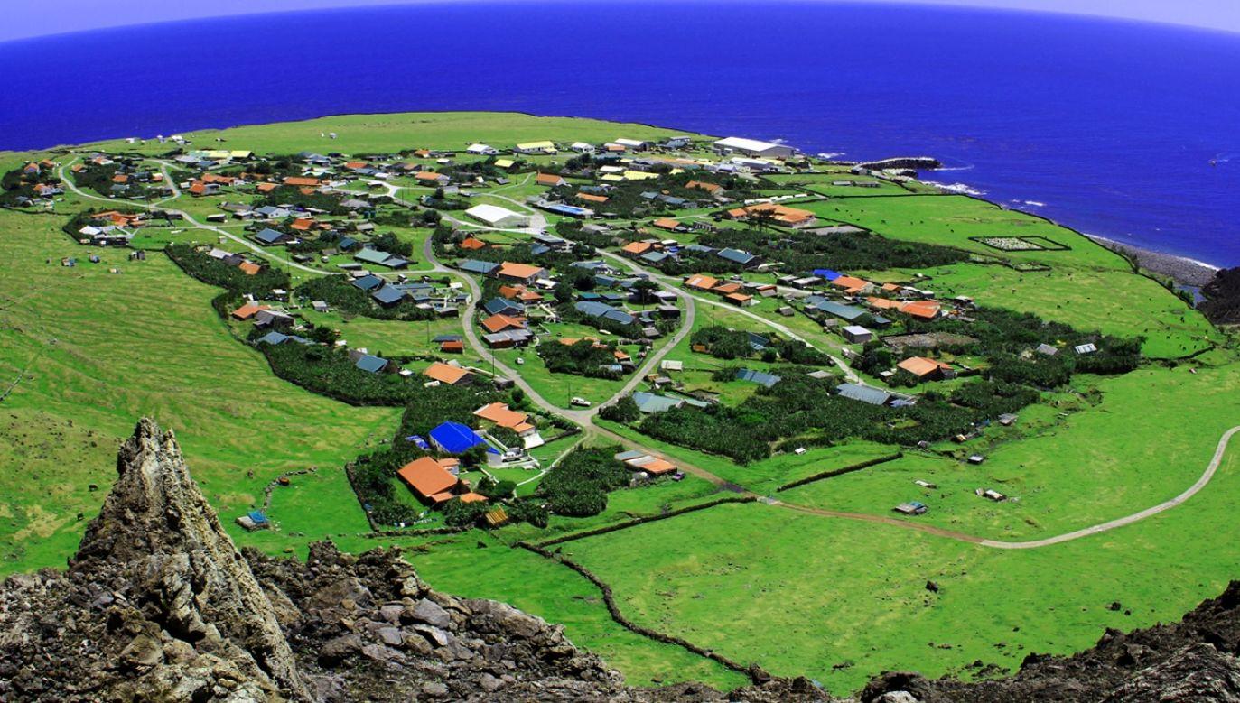 Populacja Tristan da Cunha liczy 250 osób (fot. Imaggeo Kasra Hosseini CC-BY)