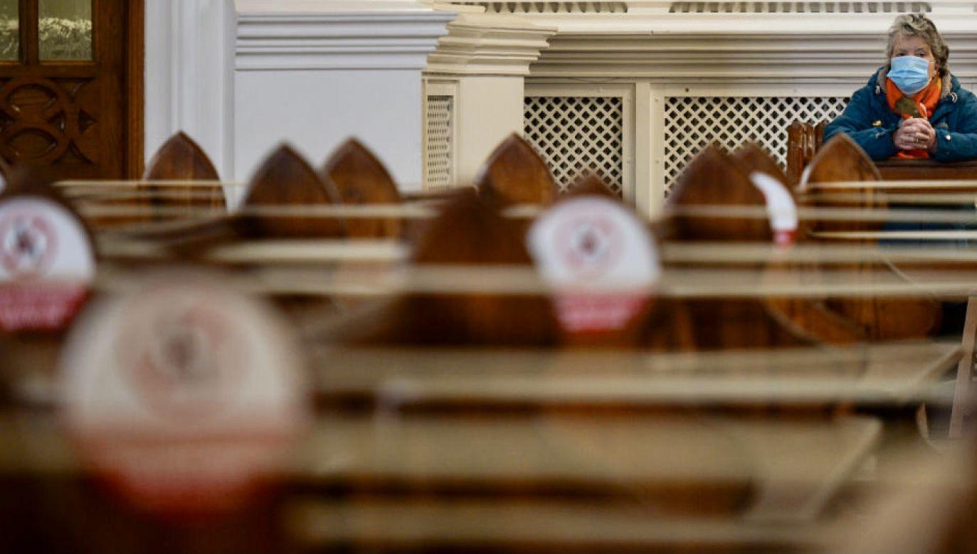 Czeka nas kolejna Wielkanoc w pełnym reżimie sanitarnym (fot. Artur Widak/NurPhoto/Getty Images)