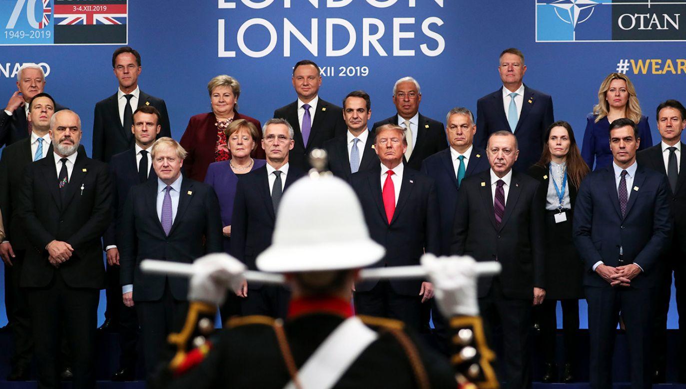 """""""NATO to najpotężniejszy w historii sojusz"""" (fot. Steve Parsons - WPA Pool/Getty Images)"""