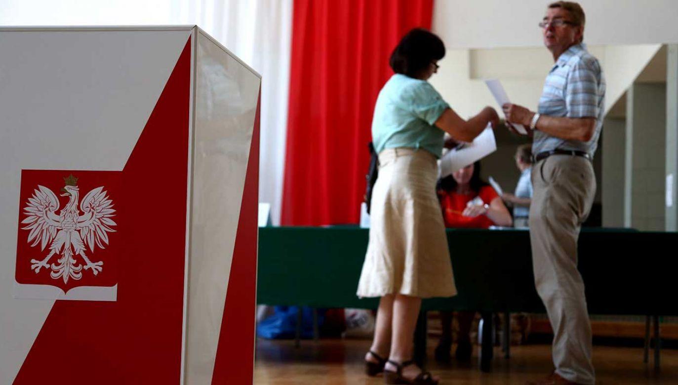 Wynik nowego sondażu oznacza, że PiS uzyskałby 29 mandatów w europarlamencie (fot. arch. PAP/Tomasz Gzell)