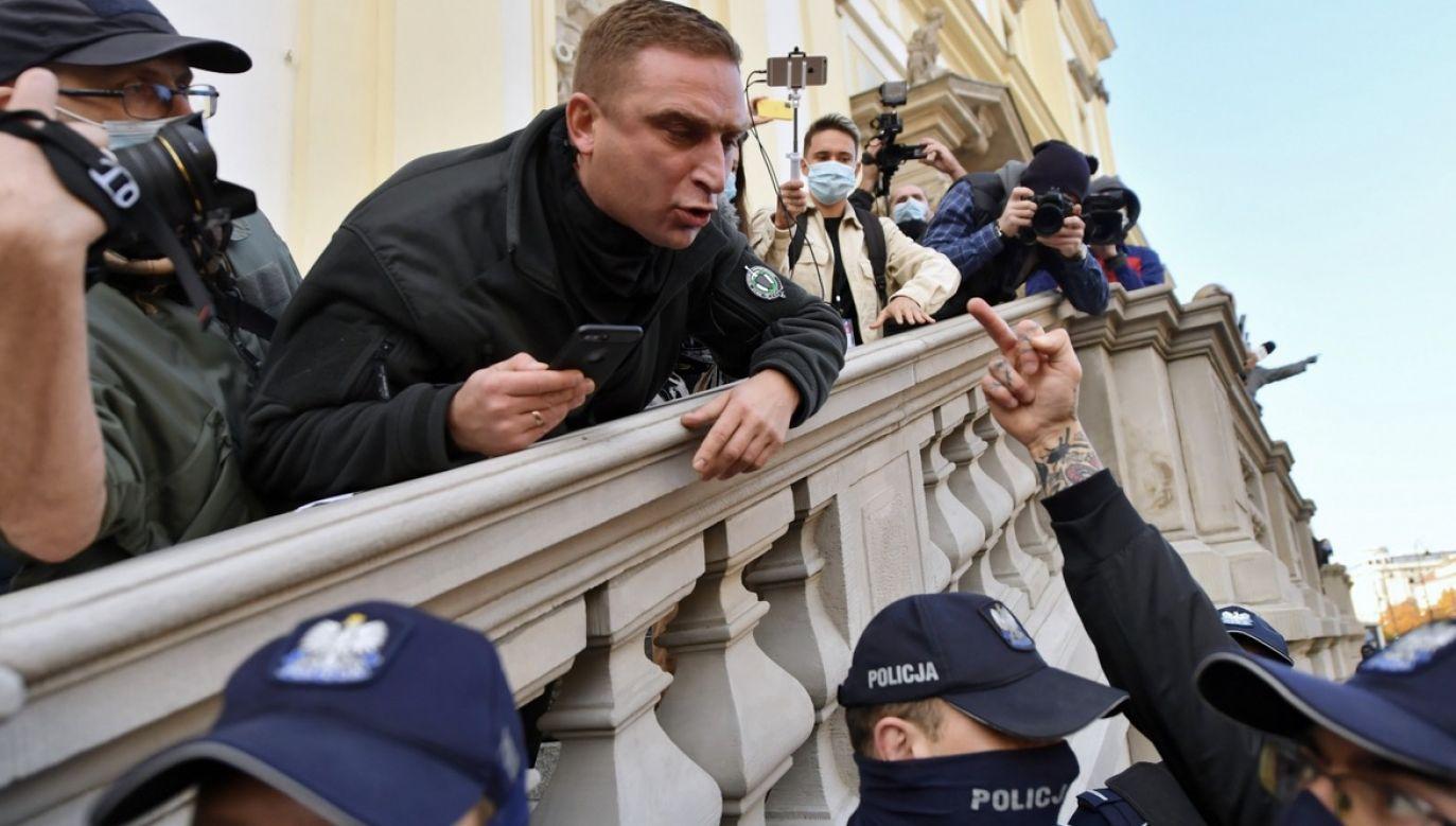 Echa orzeczenia Trybunału Konstytucyjnego ws. aborcji (fot. PAP/Piotr Nowak)