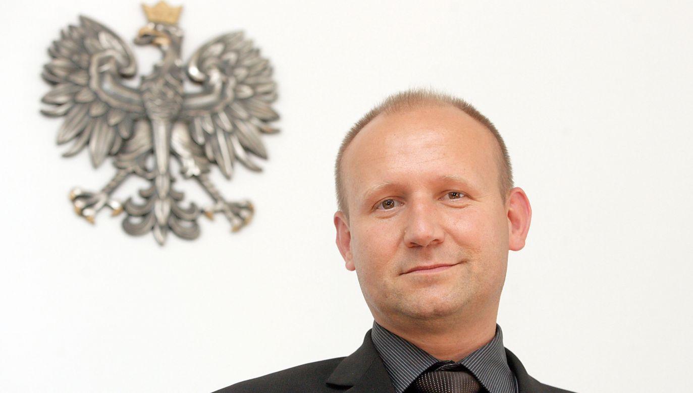 Prok. Dariusz Barski, bliski współpracownik Zbigniewa Ziobro, w 2004 r. oskarżał Marka P. za rozboje z bronią w ręku (fot. arch PAP/Paweł Kula)