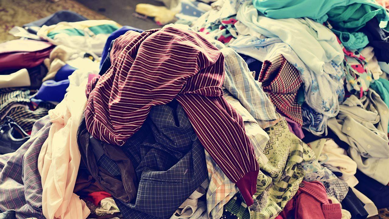 Jeden z bliźniaków schował się w domu pod stertą ubrań (fot. Shutterstock/nito)