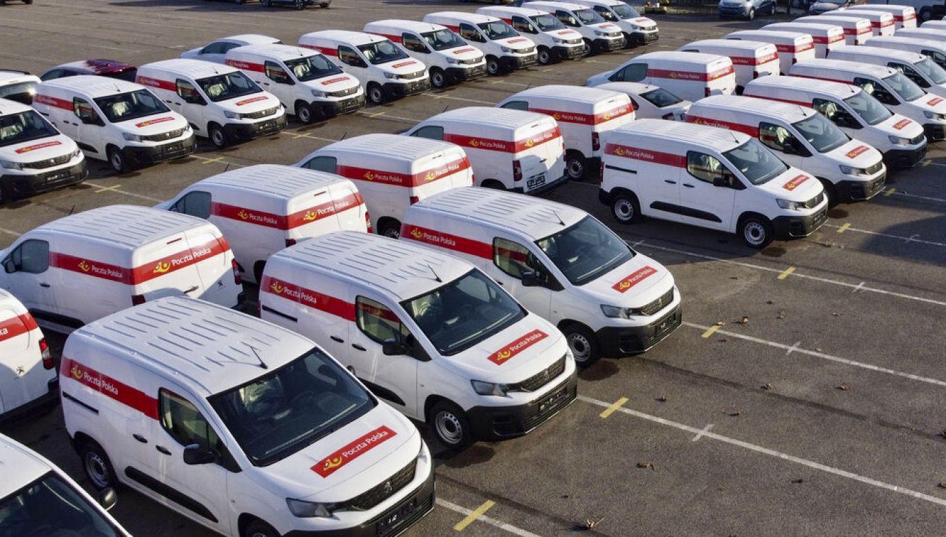 Poczta Polska użytkuje obecnie ponad 5000 samochodów dostawczych (fot. Materiały prasowe)