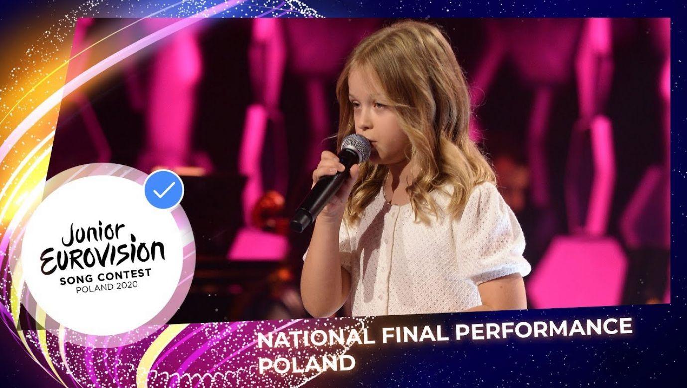 Ala Tracz będzie reprezentować Polskę podczas Eurowizji Junior 2020 (fot. Materiały prasowe)