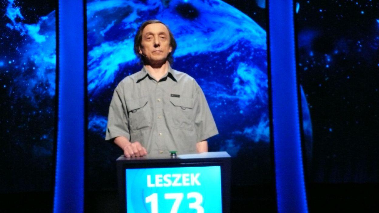 Leszek Bednarek - zwycięzca 18 odcinka 113 edycji