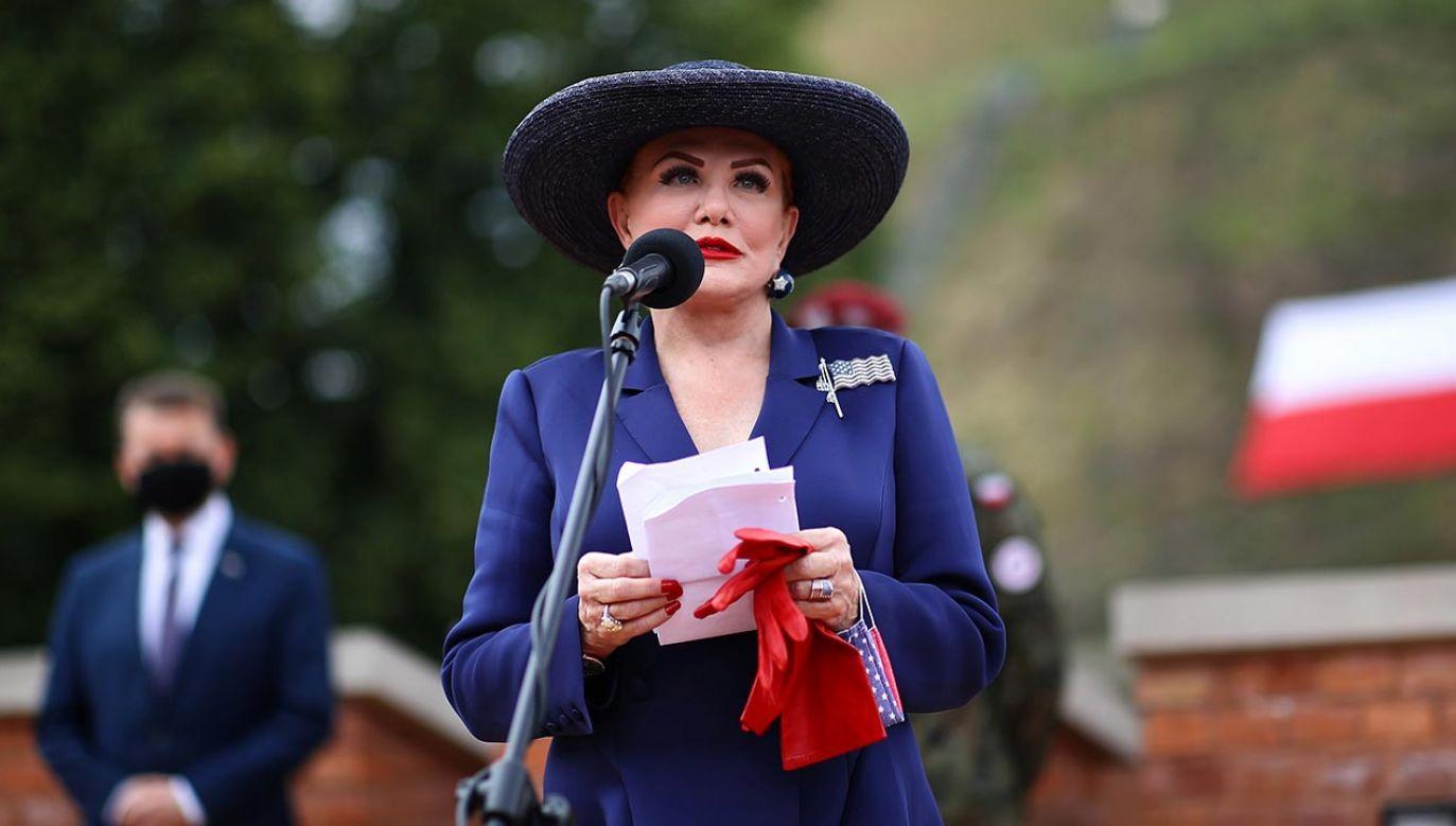 Ambasador USA w Polsce Georgette Mosbacher (fot. PAP/Łukasz Gągulski)