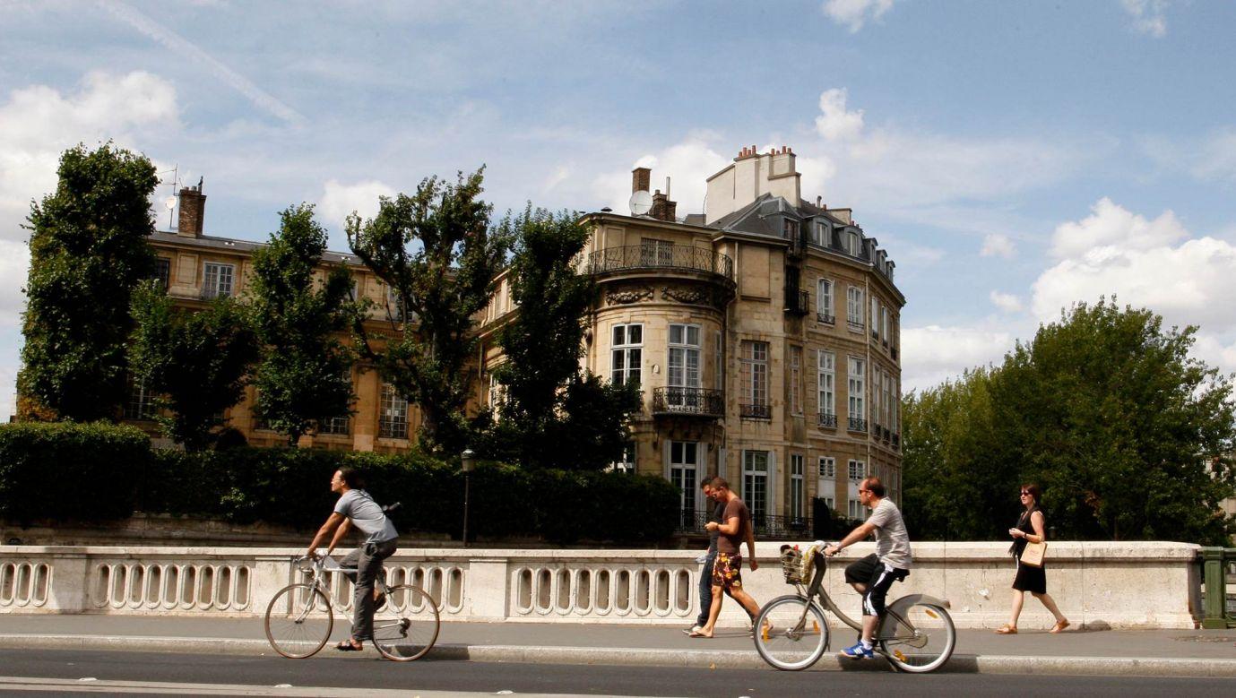 Paryski Hotel Lambert do rodziny Czartoryskich należał od 1843 do 1975. Dziś jego właścicielem jest brat emira Kataru Abdallah Ben Abdallah-Al-Thani. Fot. Hotel Benoit Tessier / Reuters / Forum