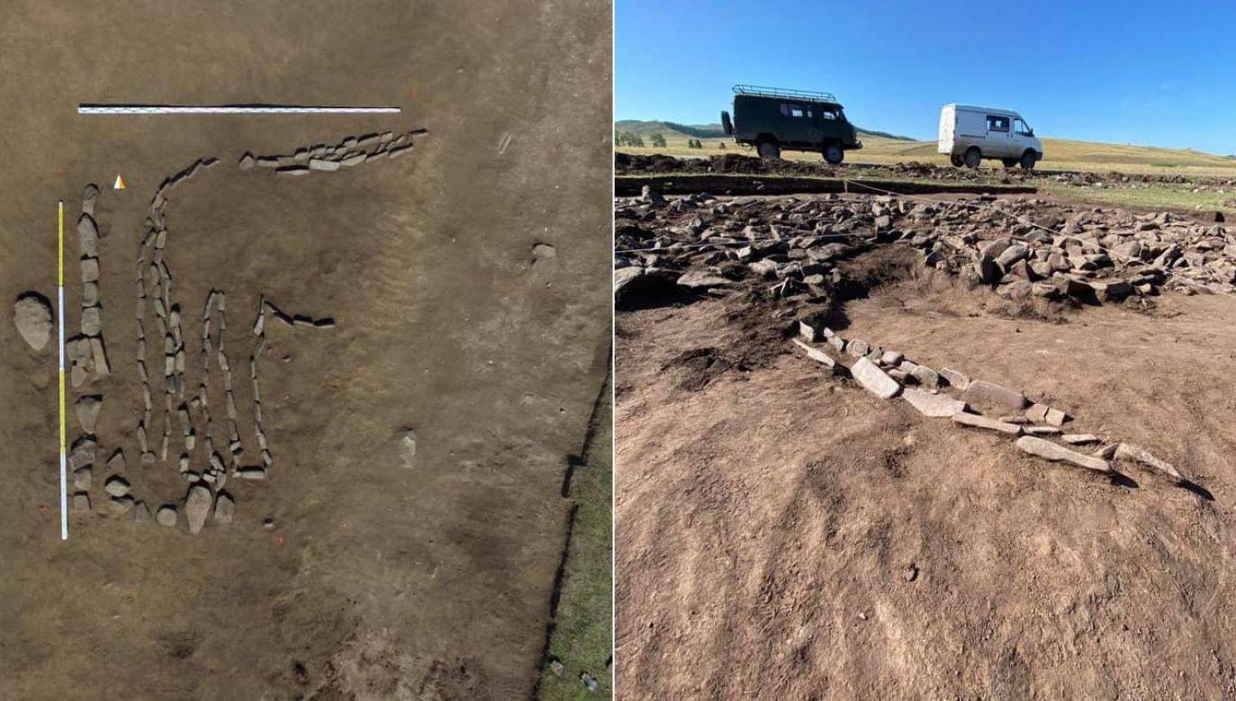 Geoglif powstał ponad 4 tysiące lat temu (fot. Institute for the History of Material Culture - IHMC RAS/V. Busova, E. Nikitina)