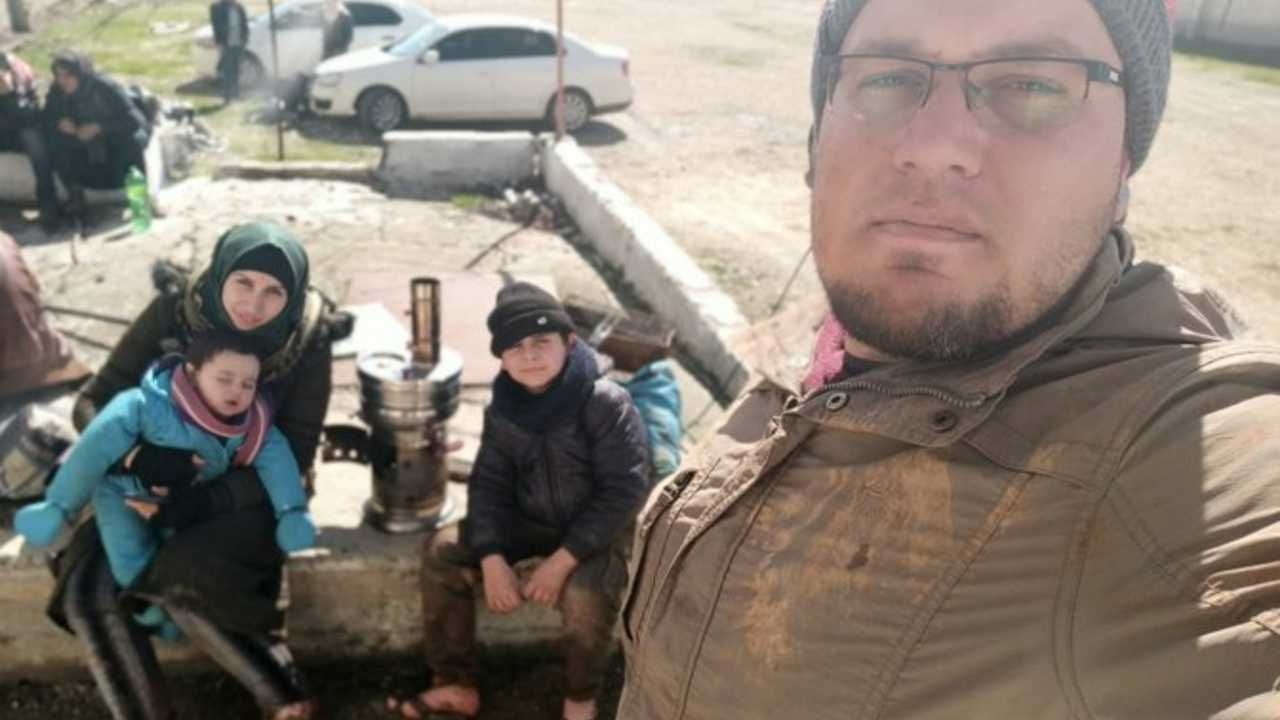 Omar Al Halabi dokumentował zbrodnie w Syrii (fot. TT/Omar Al Halabi)
