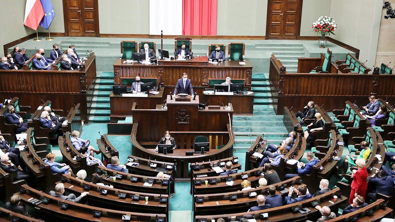 Wołodźko: Gdyby ordynacja wyborcza nie promowała dużych formacji, polskiej scenie politycznej groziłby chaos (fot. PAP/Wojciech Olkuśnik)