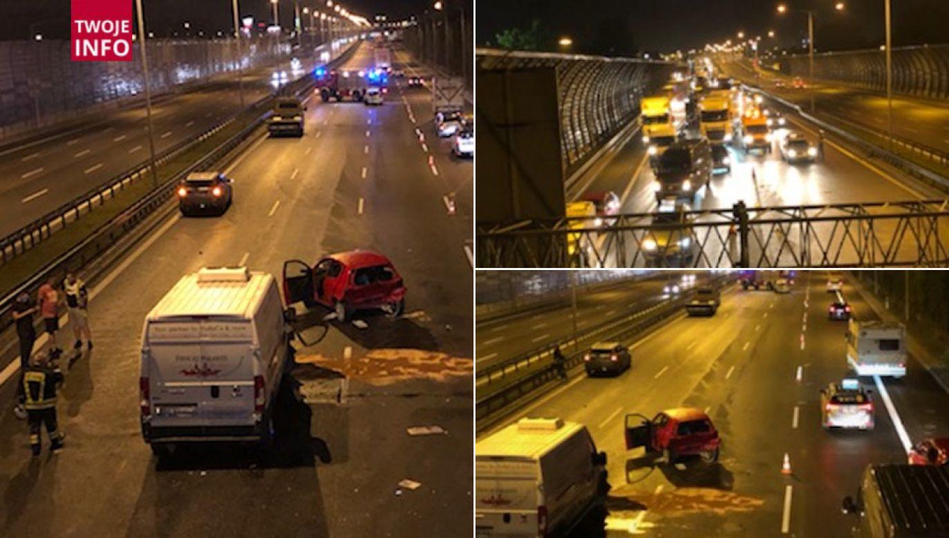 Policja ustala okoliczności wypadku (fot. Twoje Info)