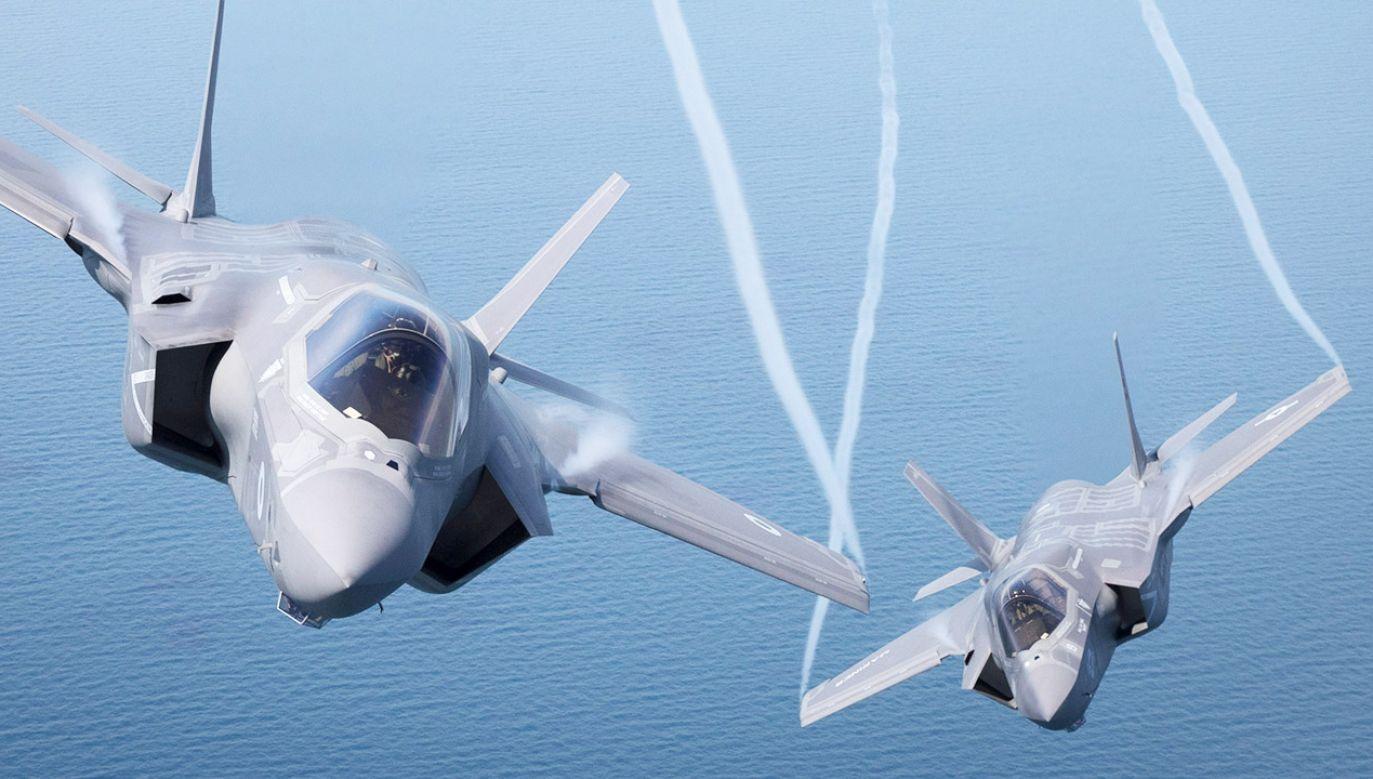 Pod koniec maja Mariusz Błaszczak poinformował, że resort wysłał zapytanie ofertowe w sprawie zakupu 32 samolotów piątej generacji F-35A (fot. Matt Cardy/Getty Images)