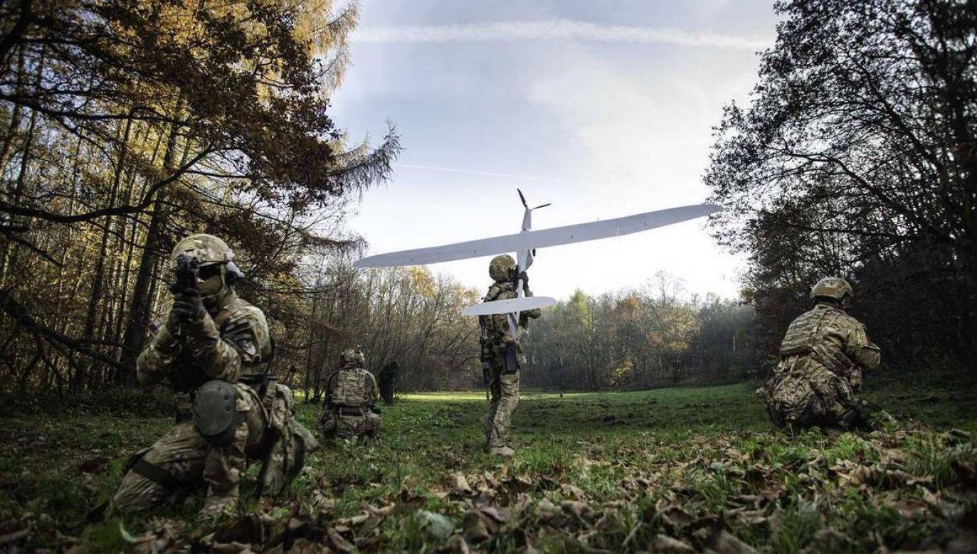 Na zdjęciu komandosi jednostki Nil (fot.wp.mil.pl)
