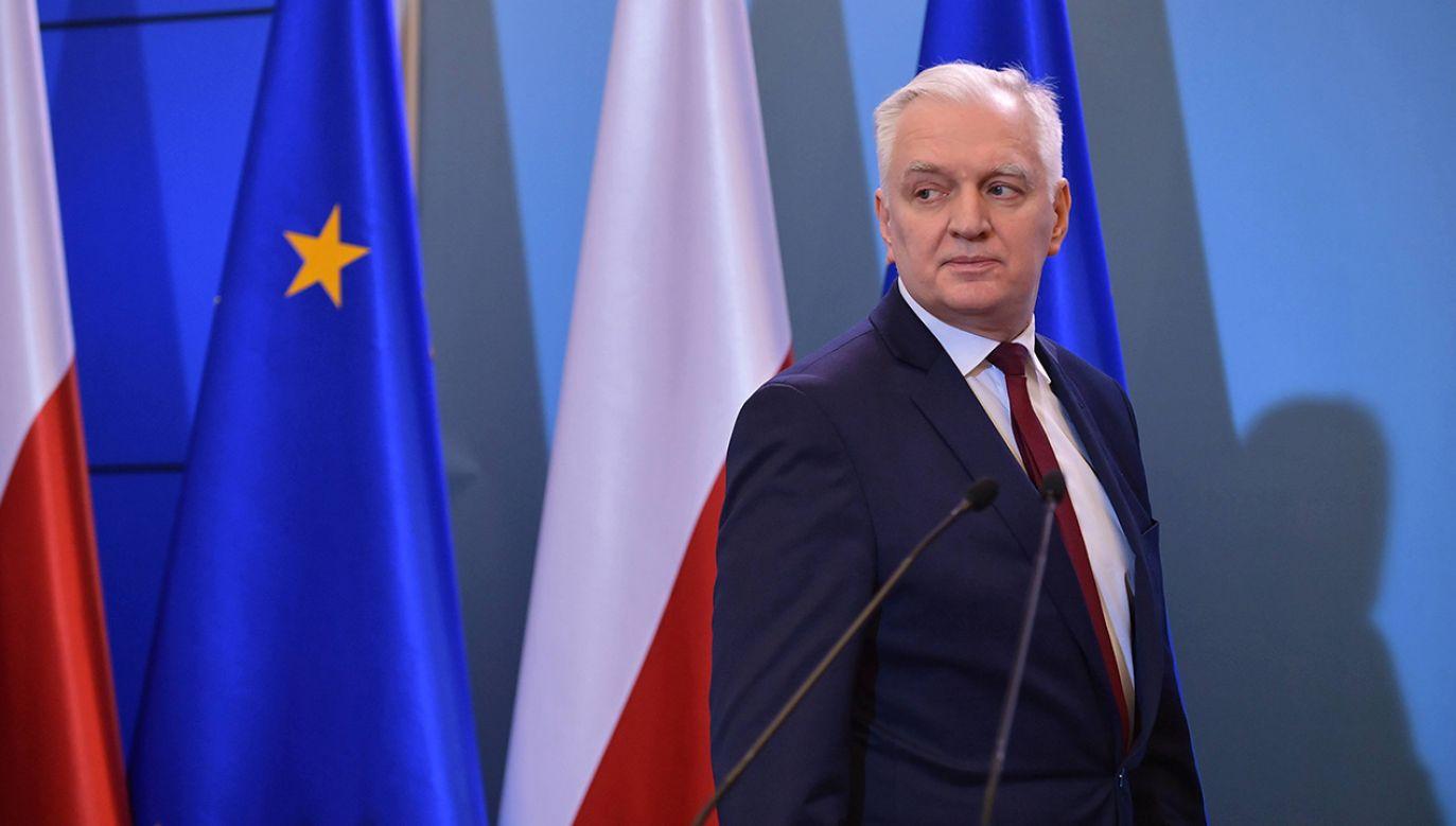 """Wybory 10 maja się odbędą, bo tak wynika z konstytucji i """"nie ma żadnej możliwości, żeby to zmienić"""" (fot. PAP/Marcin Obara)"""
