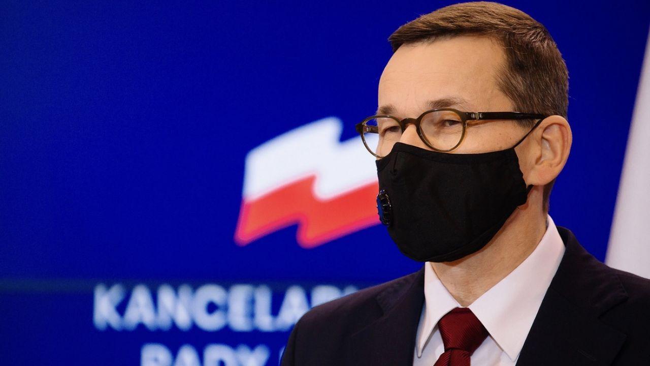 Premier Morawiecki wysłał list w sprawie praworządności i budżetu do liderów unijnych instytucji (fot. K.Maj/KPRM)