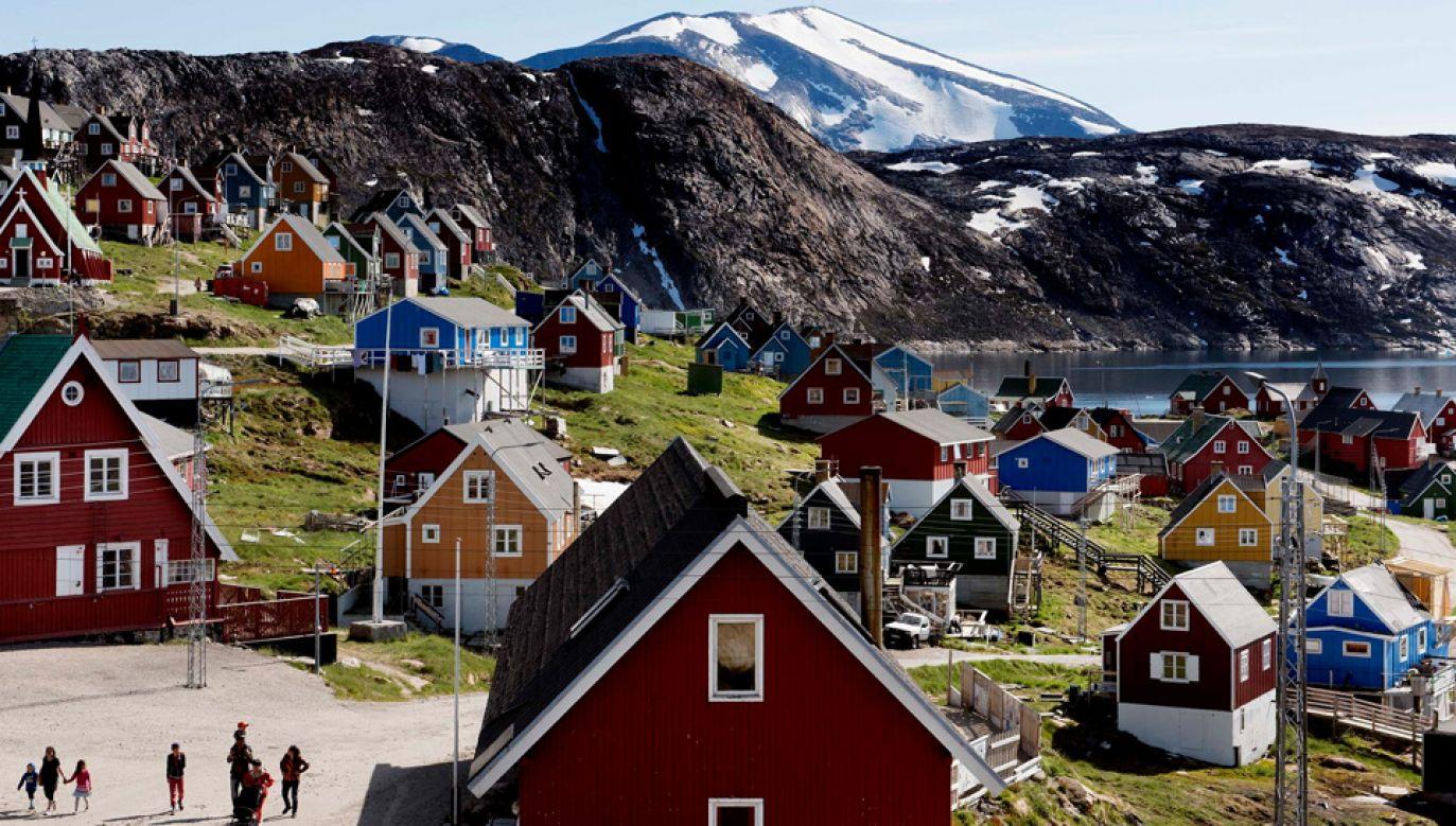 Grenlandia znalazła się w orbicie zainteresowań Białego Domu (fot. PAP/EPA/LINDA KASTRUP)