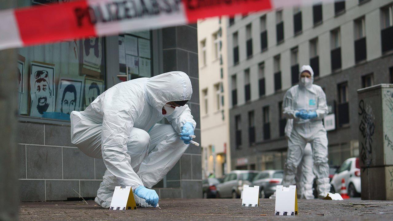 Wśród ofiar nożownika nie było Polaków (fot. PAP/DPA)
