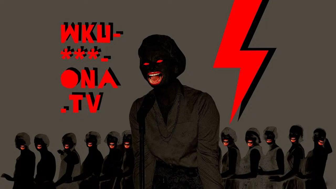 """Logo telewizji organizacji """"Strajk Kobiet"""" (fot. YouTube/Pop Up Radio Krakow)"""