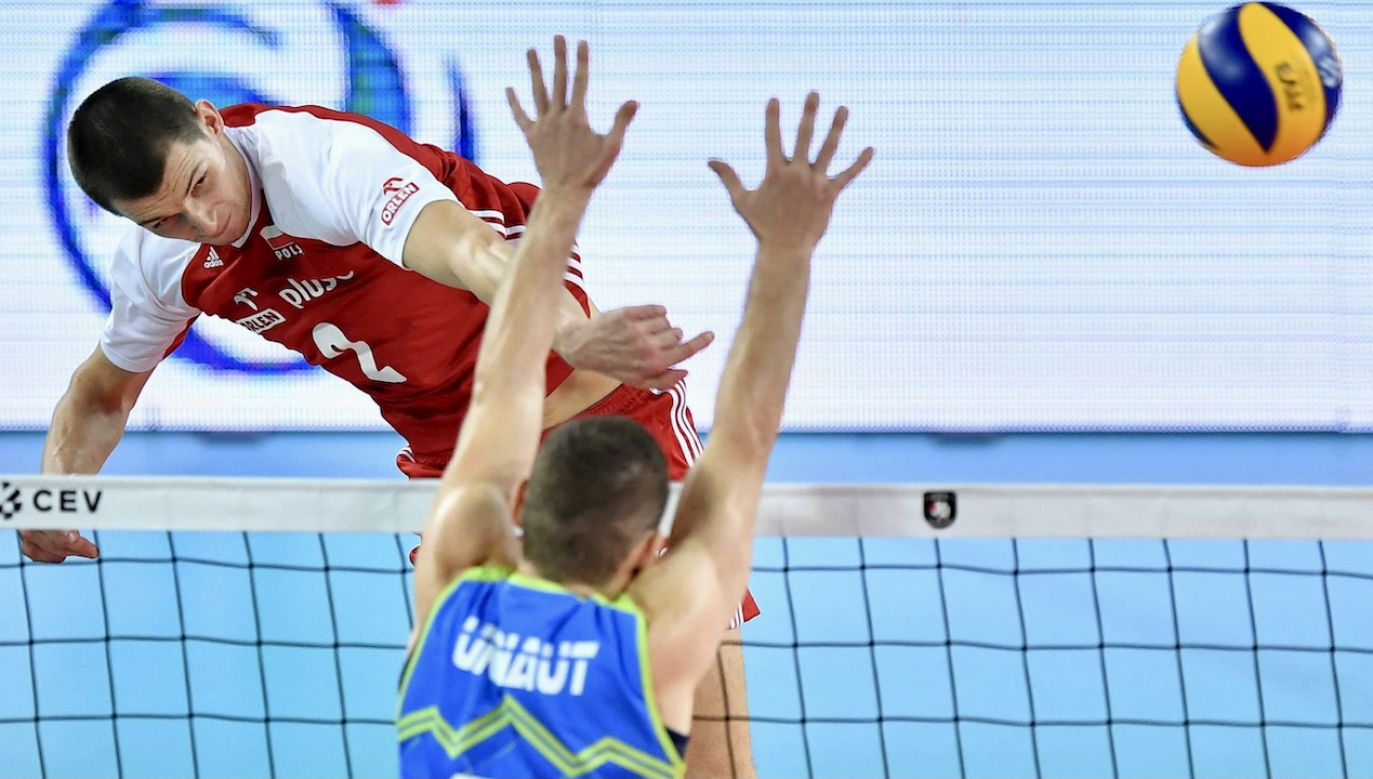 Maciej Muzaj zaliczył dobry mecz przeciwko Holendrom (fot. arch.PAP/M.Kulczyński)