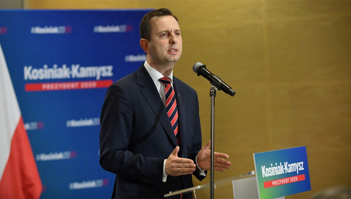 Władysław Kosiniak-Kamysz walczy o fotel prezydenta (fot. PAP/Marcin Obara)