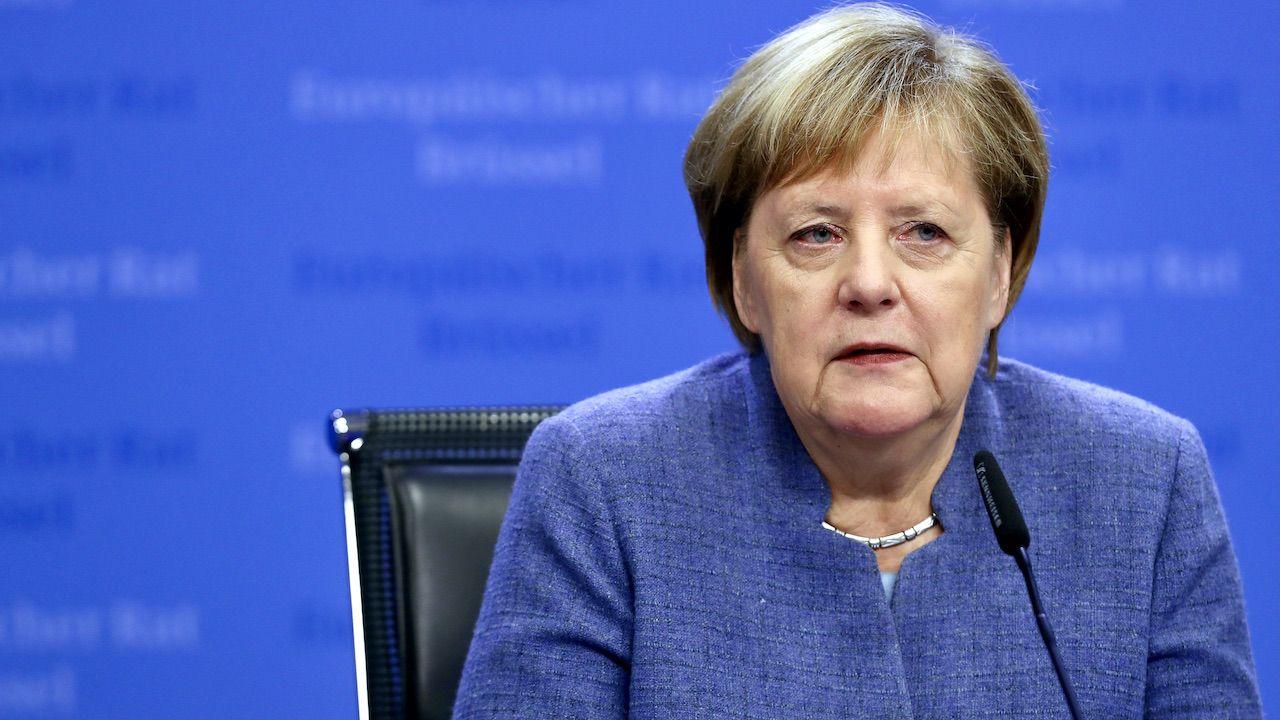 """Szymon Szynkowski vel Sęk zaznaczył, że Paradoks polega na tym, Polska z Niemcami ma intensywne relacje gospodarcze, społeczne"""" (fot. Sean Gallup/Getty Images)"""