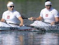 Karolina Naja i Beata Mikołajczyk na finiszu pokonały Chinki (fot. Getty Images)