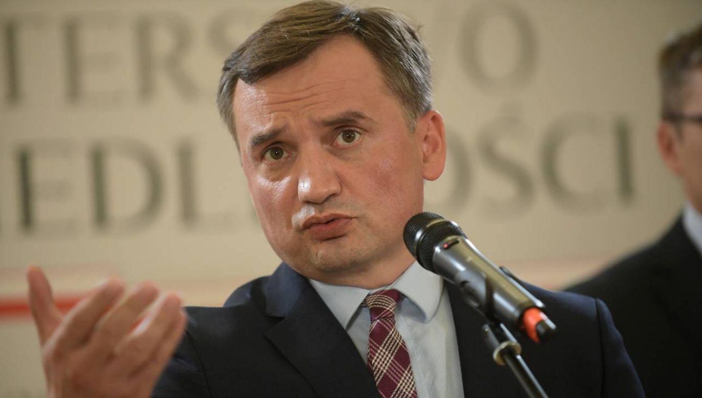 Ziobro nie będzie już ministrem sprawiedliwości? (fot.PAP/Marcin Obara)