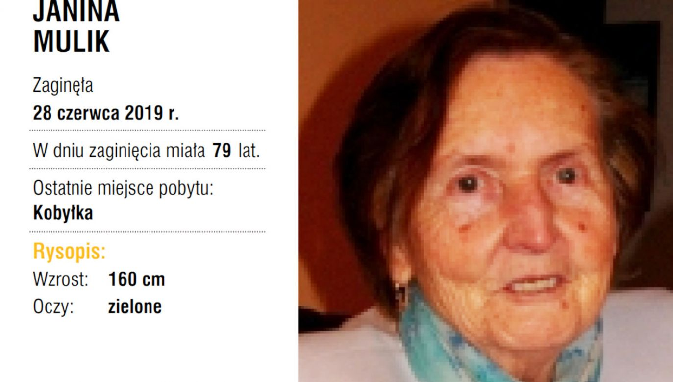 Zaginiona Joanna Mulik (fot. Itaka)