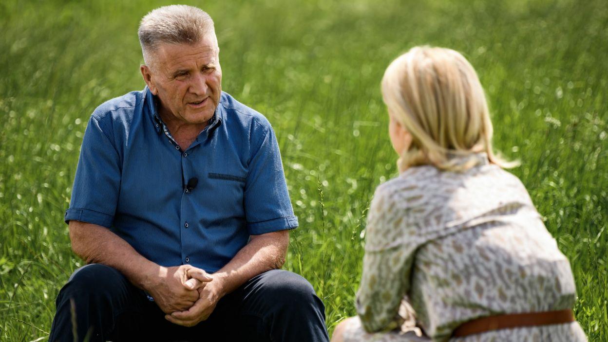 Józef chce kochać i być kochany, ale nie u wszystkich z rodziny jego decyzja znajduje akceptację (fot. TVP)