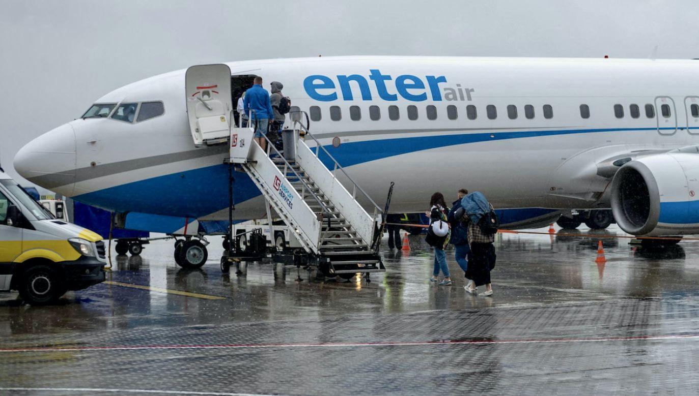 Samolot lądował w Etiopii (fot. arch.PAP/A.Grygiel, zdjęcie ilustracyjne)