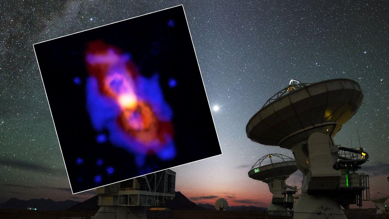 Wykryto nieznane dotąd źródło radioaktywnego izotopu aluminium-26 (fot. tt/The European Southern Observatory)