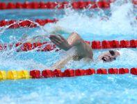 Sawrymowicz podczas wyścigu na 1500 metrów (fot.PAP/Adam Ciereszko)