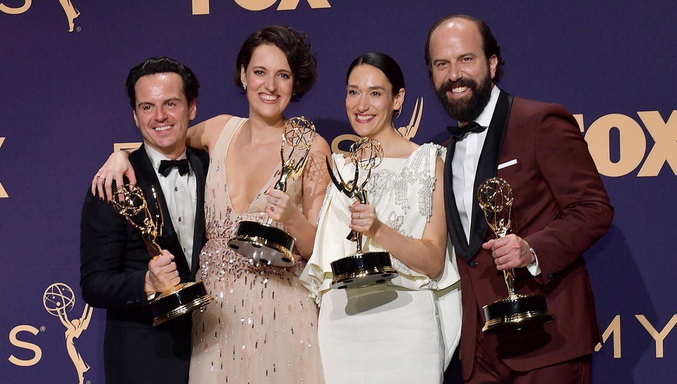 """Na 71. uroczystości rozdania nagród Emmy """"Fleabag"""" otrzymał statuetkę w kategorii najlepszy serial komediowy (fot. Getty Images/ Matt Winkelmeyer/Staff)"""