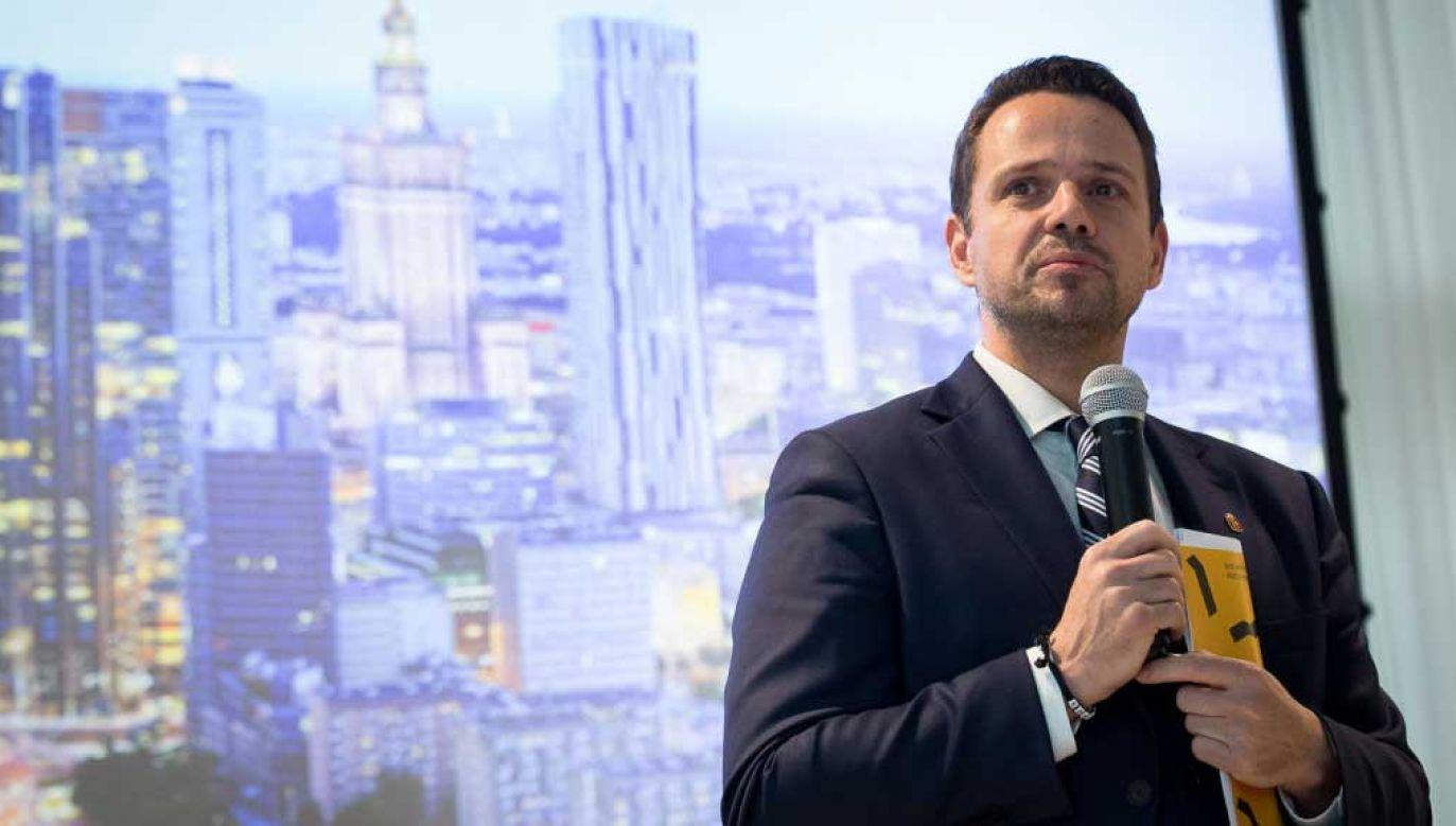 Rafał Trzaskowski jest prezydentem Warszawy od października 2018 roku (fot. Mateusz Wlodarczyk/NurPhoto via Getty Images)