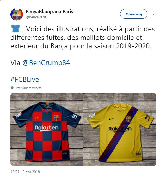 40991da21 Barcelona zrywa z tradycją. Nowy motyw na koszulkach (sport.tvp.pl)