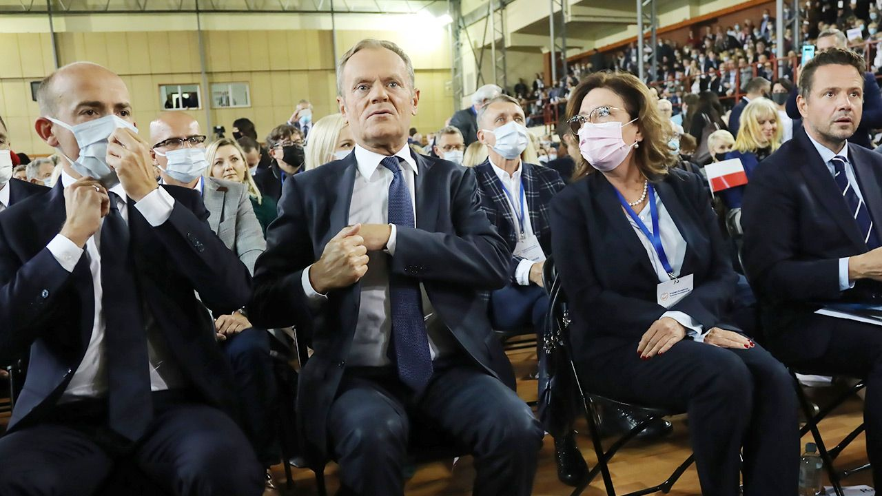 Liderzy PO obawiają się Polexitu (fot. PAP/Wojciech Olkuśnik)
