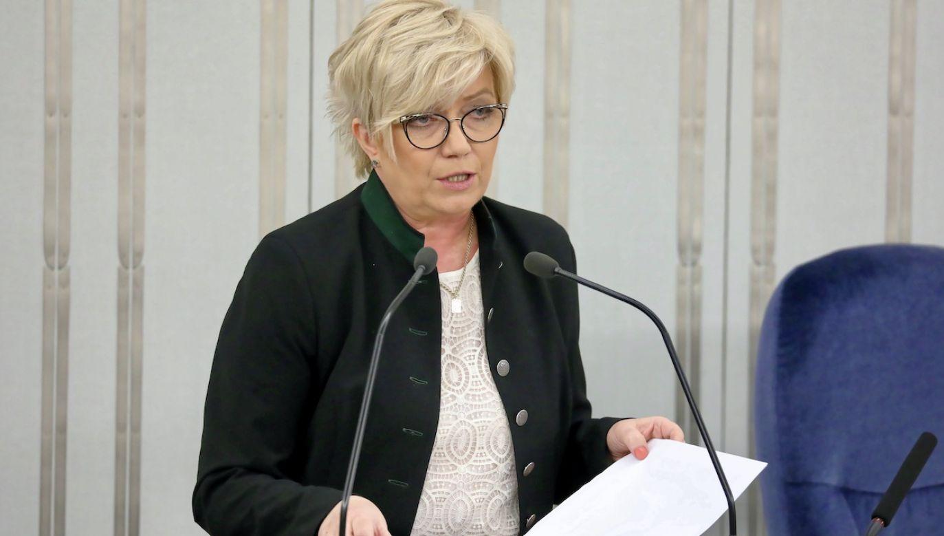 Prezes Trybunału Konstytucyjnego Julia Przyłębska (fot. arch.PAP/Tomasz Gzell)
