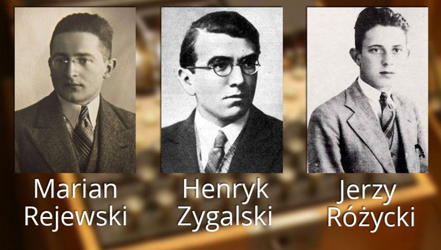 Matematycy, którzy złamali Enigmę (fot. Wikipedia)