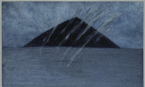 Wspomnienie czarnej góry. Fot. Zachęta - Narodowa Galeria Sztuki