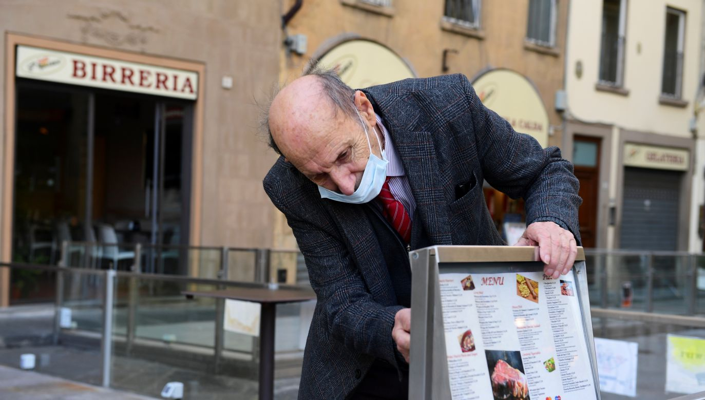 Branża gastronomiczna nie traci nadziei (fot. Jennifer Lorenzini/Reuters)