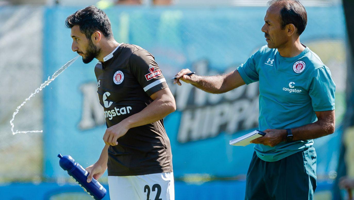 Cenk Sahin został zwolniony z St. Pauli za poparcie ataku Turcji na Syrię (fot.  TF-Images/Getty Images)