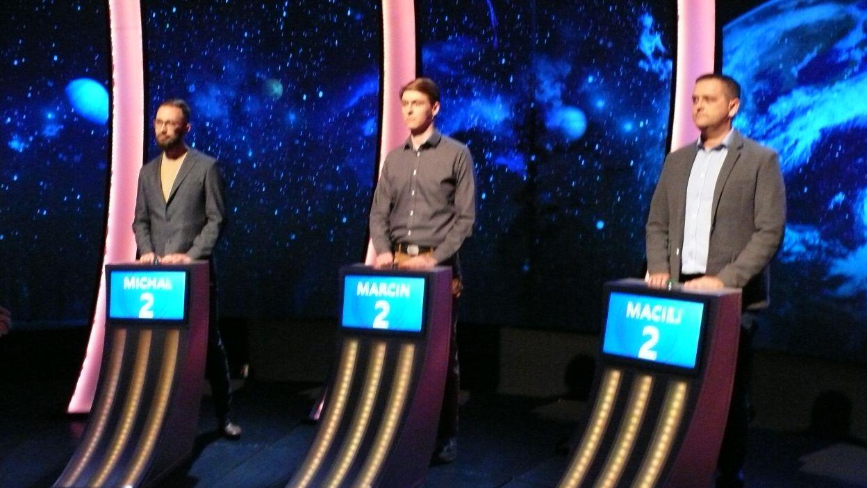 Trzech finalistów 10 odcinka 109 edycji, każdy z nich ma szansę zostac zwycięzcą odcinka