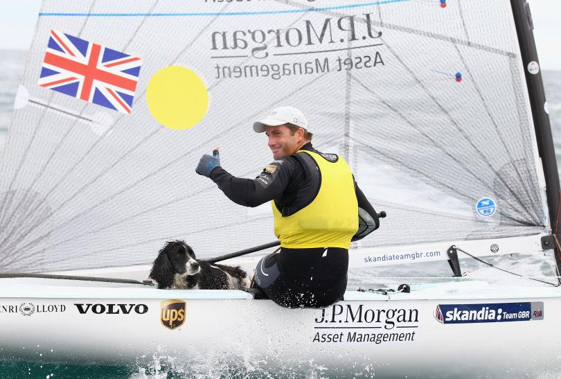 Ben Ainslie (fot. Getty Images)