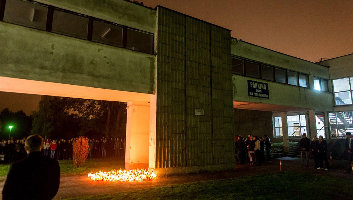Tragedia wydarzyła się w nocy z 14 na 15 października 2015 r. (fot. arch. PAP/Tytus Żmijewski)