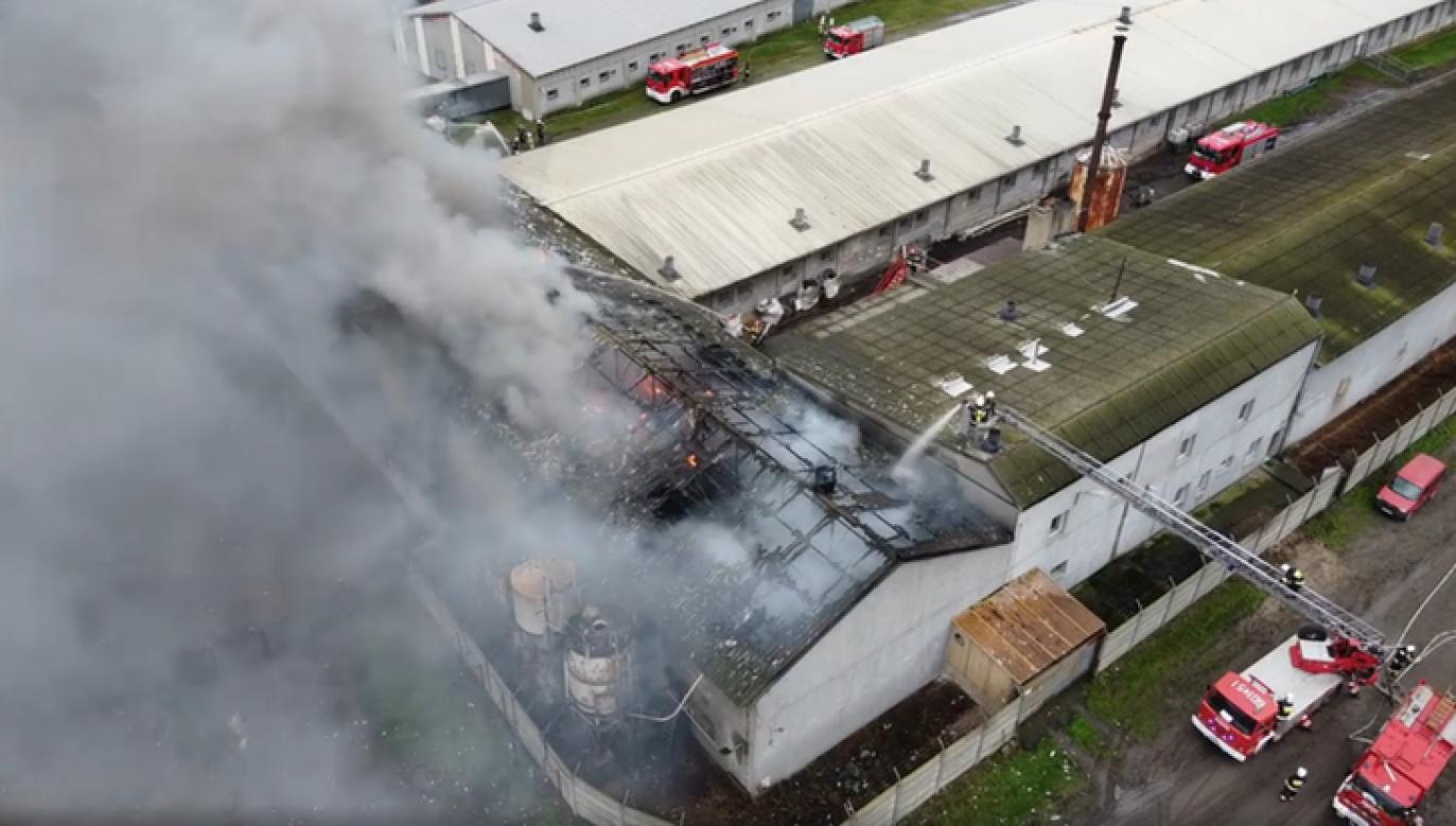 W pożarze nie ucierpiała żadna z osób (fot. Facebook/Tydzień Ziemi Śremskiej)