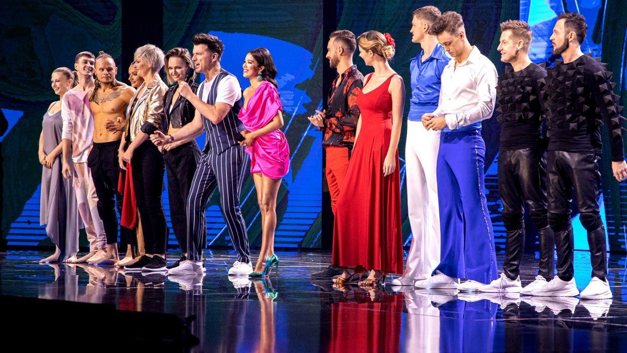 Drugi odcinek obfitował w skrajne emocje i skrajne oceny, a uczestnicy po raz ostatni zatańczyli w komplecie (fot. TVP)