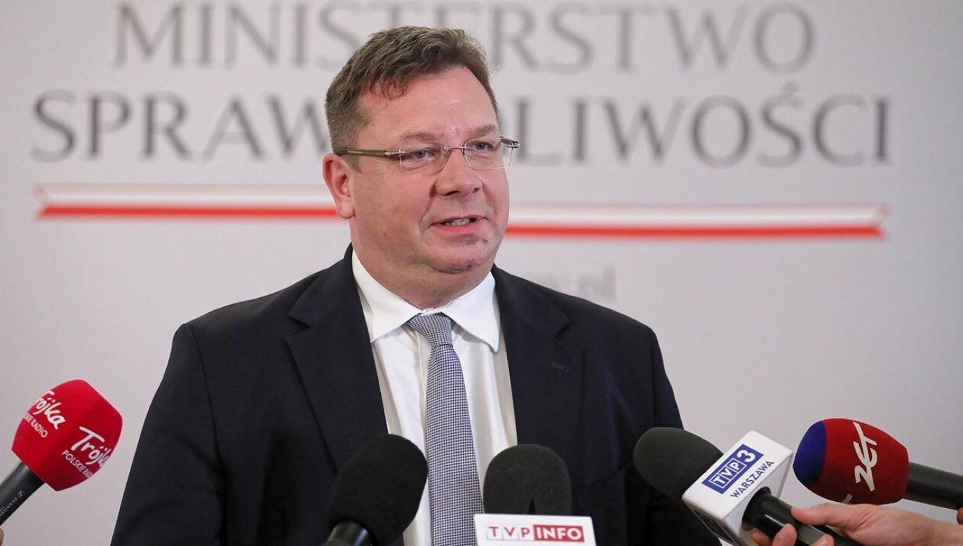 Opozycja wpisuje się w tę narrację, która jest wymierzona w Polskę i Polaków – powiedział (fot. PAP/Paweł Supernak)