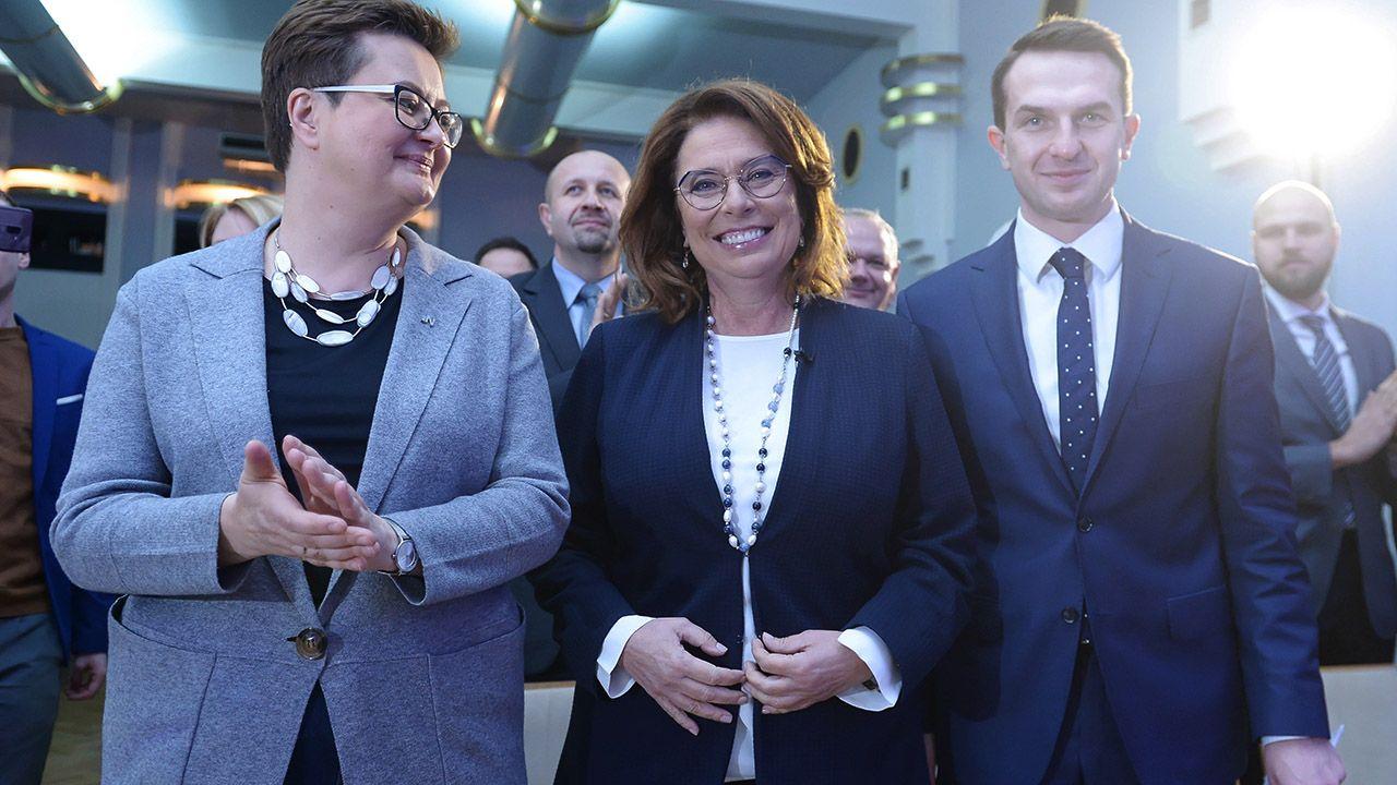 Miesiąc po prawyborach prezydenckich w PO nie wiadomo, kto pokieruje kampanią Kidawy-Błońskiej. (fot. PAP/Marcin Obara)