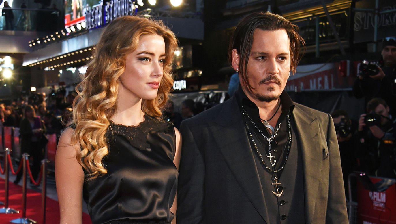 Aktor porzucił dla Heard swoją wieloletnią partnerkę Vanessę Paradis (fot. David M. Benett/Dave Benett/WireImage)